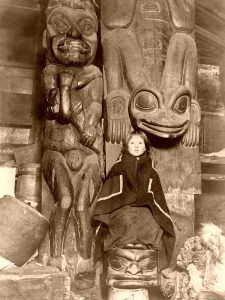 Native American Totem Pole, 1895