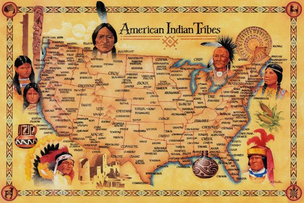 Native American Tribes List – Legends of America