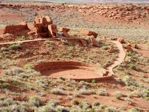 Wupatki National Monument near Flagstaff, Arizona