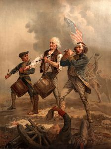 Yankee Doodle, A.M. Williard, 1776.