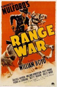 Range War Movie Poster
