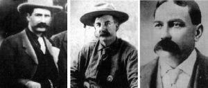 The Three Guardsman - Bill Tilghman, Heck Thomas, and Chris Madsen
