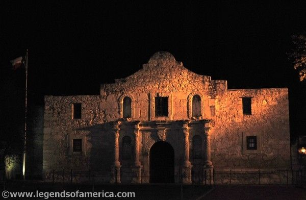 Alamo at Night