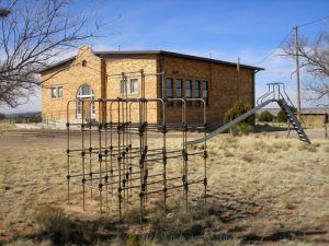 Old Ancho, New Mexico School