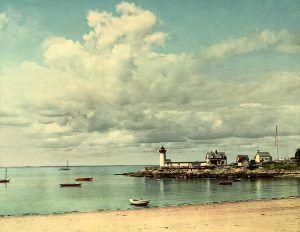 Annisquam Light, Gloucester, MA, Detroit Photographic Co, 1904