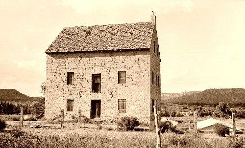 Aztec Mill, Cimarron, New Mexico