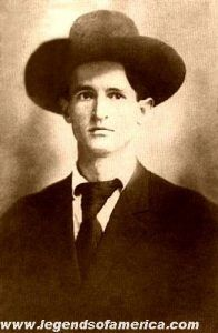 Bob Dalton, leader of the outlaw Dalton Gang