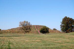 Cahokia - Monks Mound by Kathy Weiser