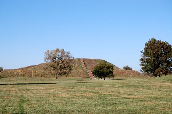 Cahokia - Monks Mound by Kathy Weiser-Alexander.