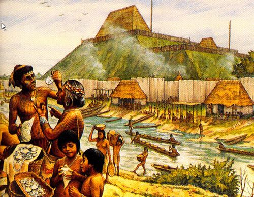 Cahokia Mounds People