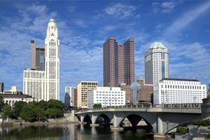 Columbus, Ohio Skyline 2009