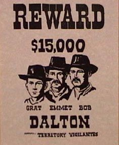 Dalton Wanted Poster