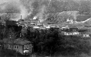 Dawson New Mexico about 1900