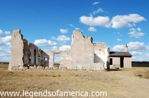 Fort Laramie Post Hospital ruins by Kathy Weiser-Alexander.