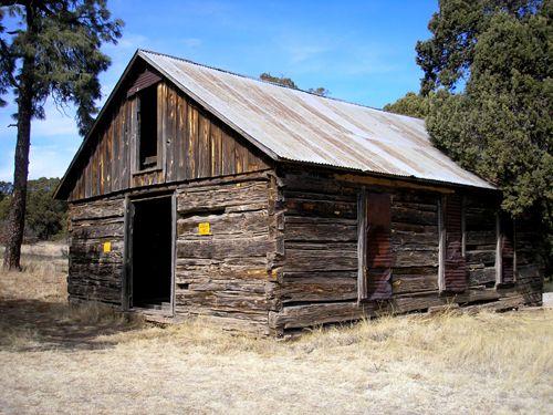 Old School House, Jicarilla, New Mexico