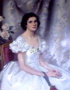 Painting of Julia Staab