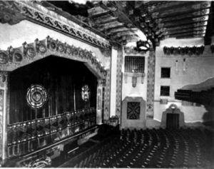 KiMo Theatre Stage, 1927