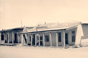 Kit Carson House in Taos, New Mexico