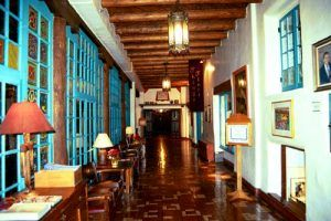 La fonda Hotel Interior by Robert Garcia