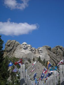 Mount Rushmore, photo by Kathy Weiser-Alexander.