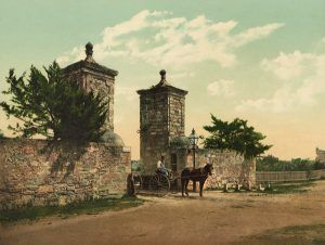 Old City Gate, St. Augustine, Detroit Photographic,1898
