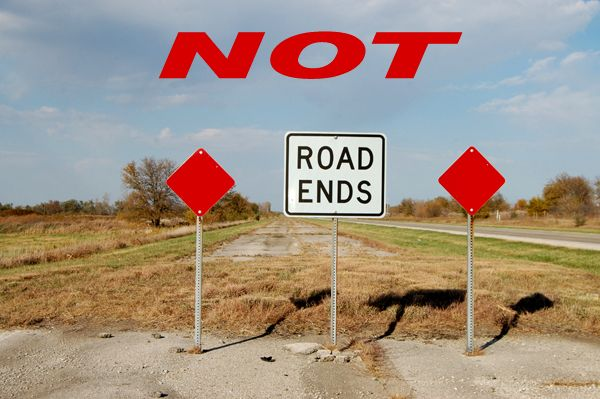 Road Ends in Illinois