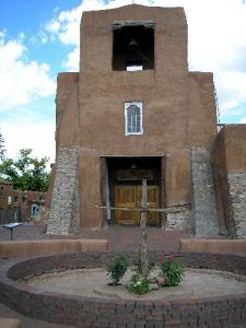San Miguel Mission, Santa Fe, New Mexico by Kathy Weiser