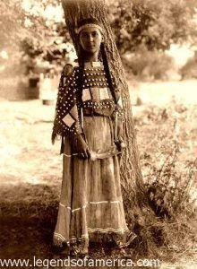 Sioux Maiden 1908