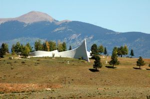 The Vietnam Veteran's Memorial is located between Angel  Fire and Eagle Nest, New Mexico