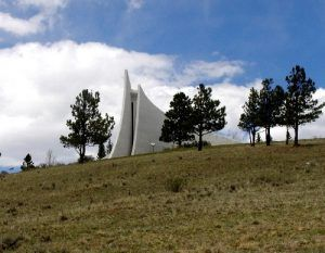 Vietnam Veterans' Memorial, Angel Fire, New Mexico by Dave Alexander