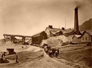 Virginia City, Nevada Mining Works