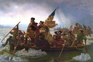 Washington Crossing the Delaware by Emanuel Leutze 1851