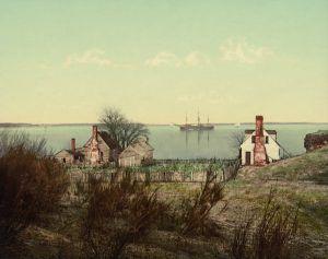 Yorktown harbor, VA, Detroit Photographic,1903