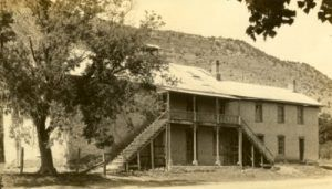 Lincoln County New Mexico Courthouse, 1930