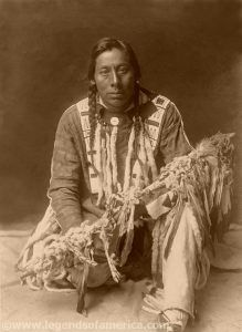 Medicine Pipe-Piegan, Edward S Curtis, 1910