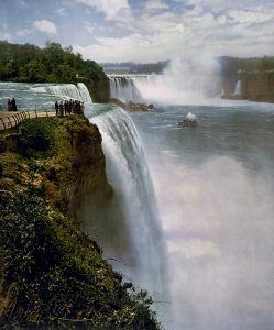 Niagara Falls, William Henry Jackson, Detroit Publishing Co,around the turn of the century