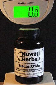 SeeLessO'Me Tea from Nuwati Herbals