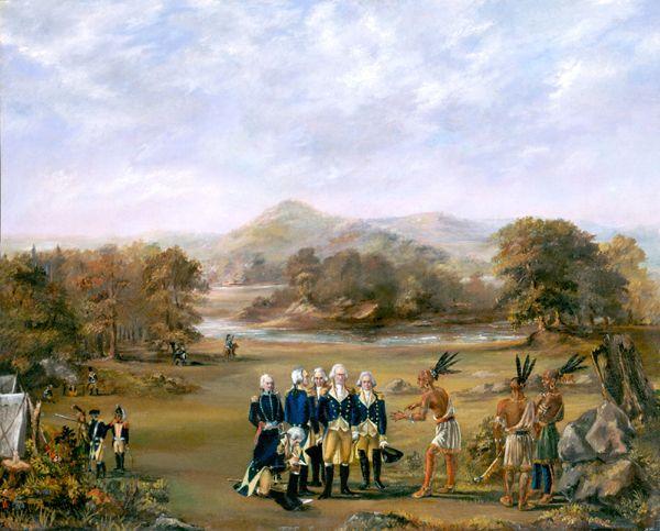 Treaty of Greenville, Ohio