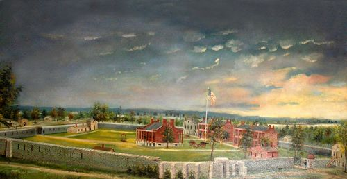 The Second Fort Smith during its heydays