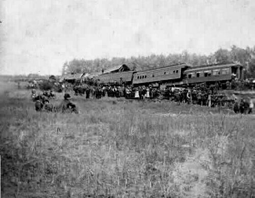 Adair Iowa Train Derailment