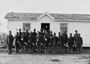 Black Infantry at Fort Corcoran, VA, 1865 William M. Smith