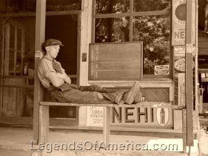 Blakenship, Indiana General Store, 1939