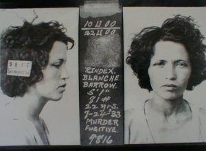 Blanche Barrow Mug Shot, 1933