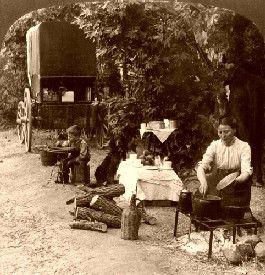 California Camping, 1907.