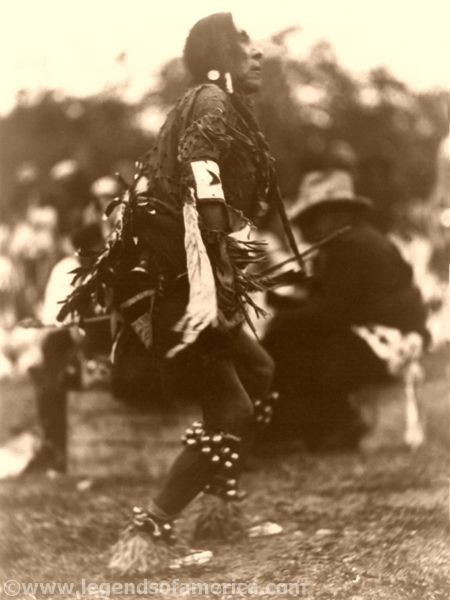Chief Turtle, Rain Dance, MT, Bain News Service, 1920