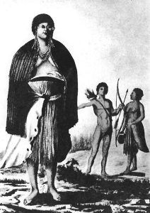 Esselen native 1791, by Jose Cardero