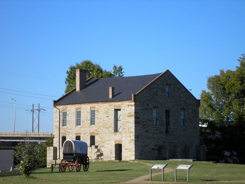Fort Smith Commissary Storehouse, October, 2007