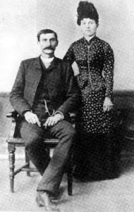 Pat Garrett, with wife Apolonaria