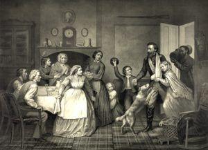 Home again, Trevor McClurg, 1866