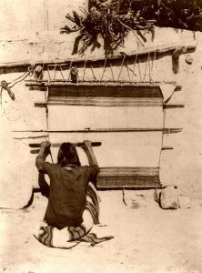 Hopi Weaving, 1879